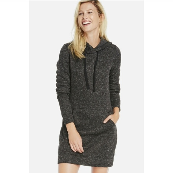 Fabletics Dresses   Skirts - Fabletics hooded sweatshirt dress - small 053a9fc636